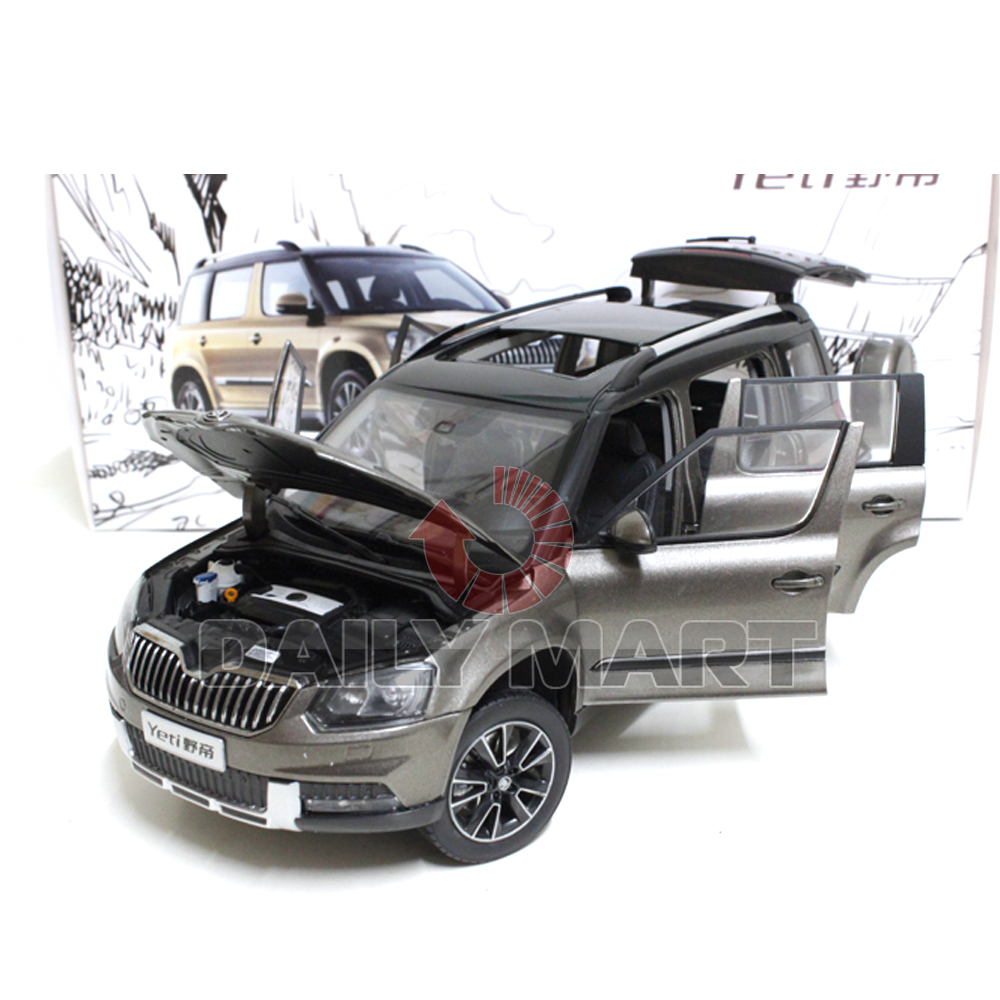 1 18 scale skoda yeti dark grey diecast toy car model ebay. Black Bedroom Furniture Sets. Home Design Ideas