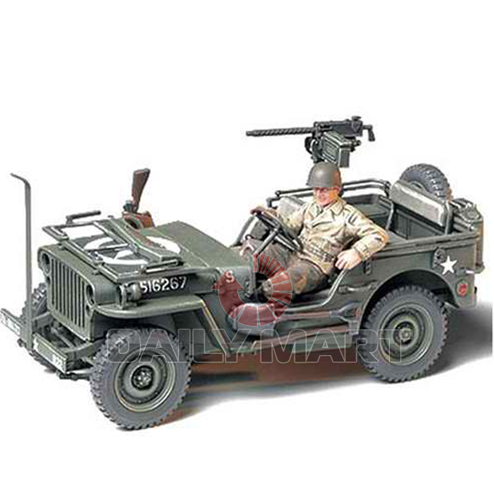 tamiya 1 35 35219 jeep willys mb 1 4 ton 4x4 truck model. Black Bedroom Furniture Sets. Home Design Ideas
