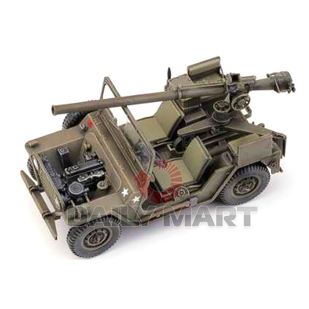 academy 1 35 13003 m151a1 with 105mm recoilless gun model kit ebay. Black Bedroom Furniture Sets. Home Design Ideas