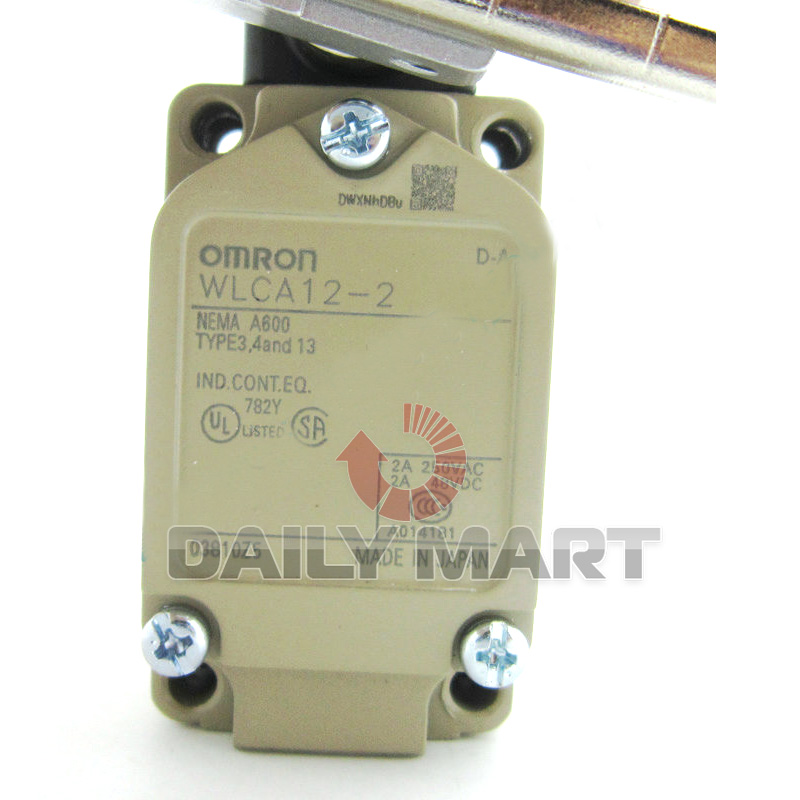 OMRON WLCA12-2 WLCA122 Limit Switch Original New in Box Free Ship