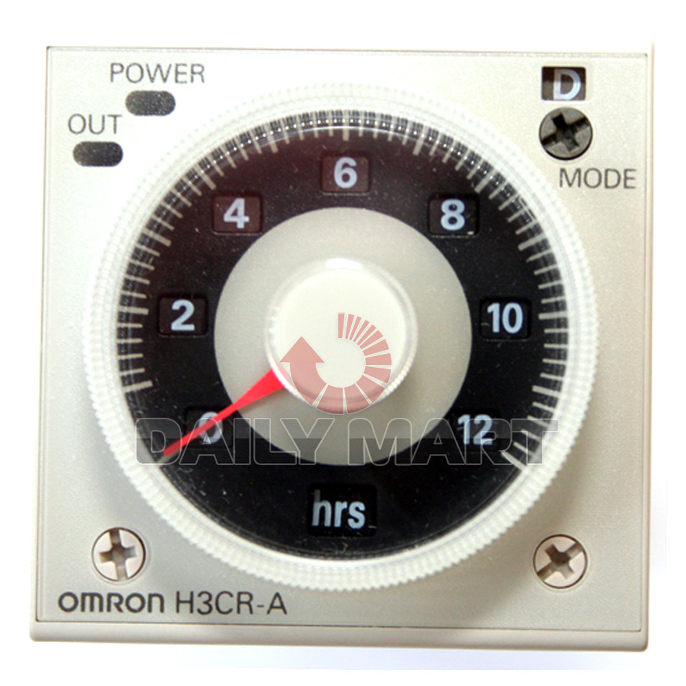 OMRON NEW H3CR-A 100-240VAC SOLID STATE MULTI FUNCTIONAL TIMER RELAY FREE SHIP