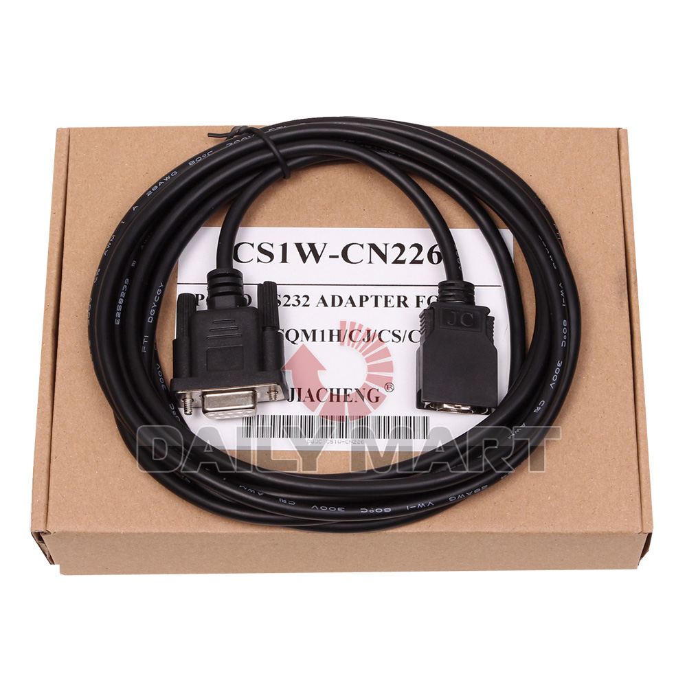 CS1W-CN226 cable PC to RS232 ADAPTER for Omron PLC CS CJ CQM1H CPM2C PLC
