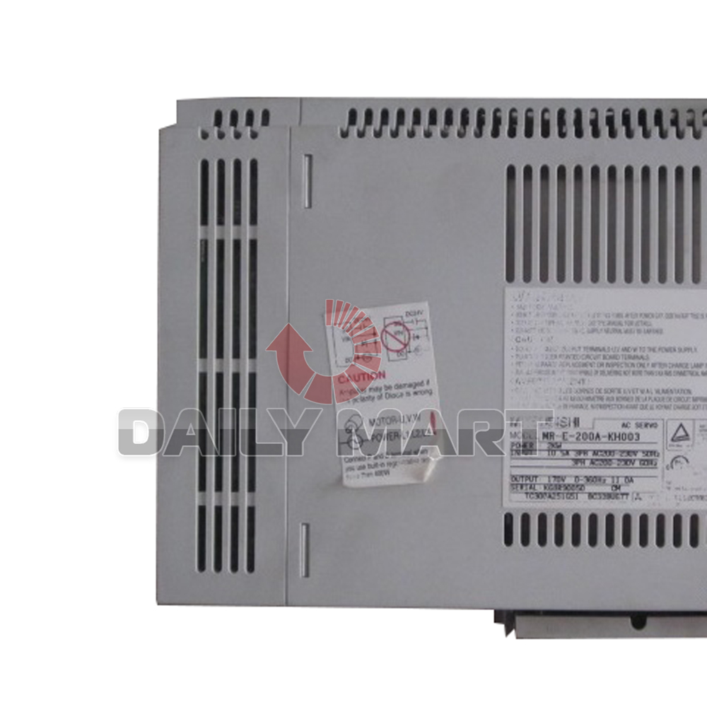 New Mitsubishi Mr E 200a Kh003 Ac Servo Motor Amplifier