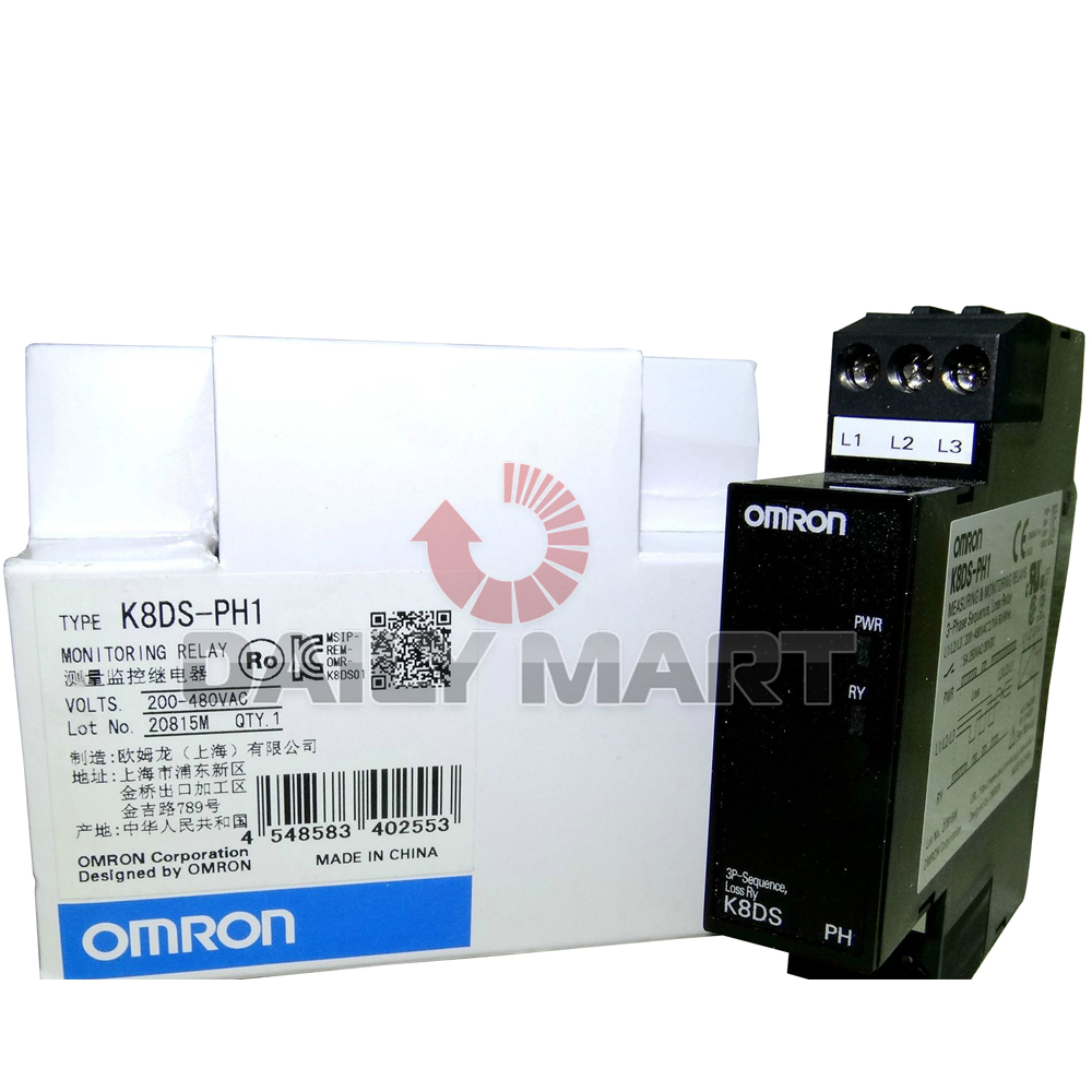ONE NEW in box Omron K8DS-PH1