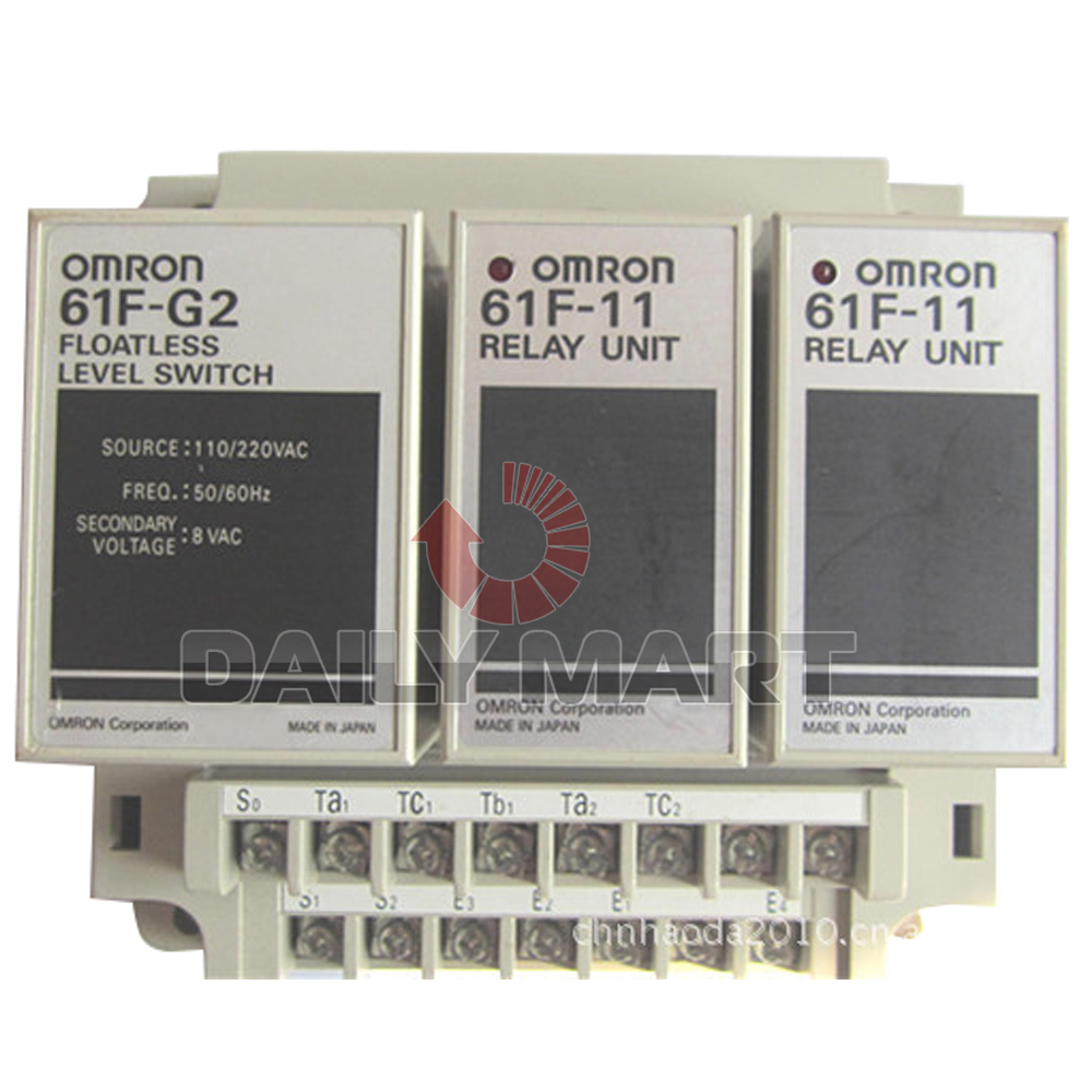 New Omron 61f G2 110 220vac Floatless Level Controller Switch Relay Categories