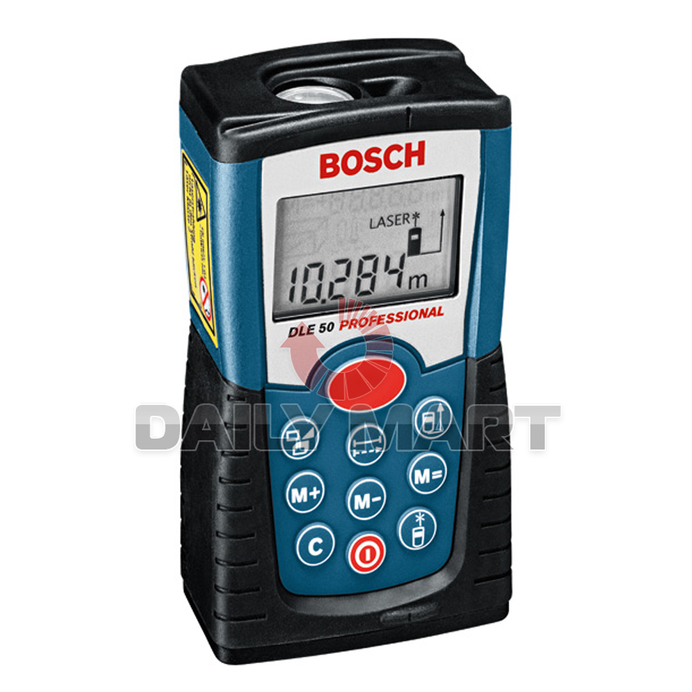 bosch dle 50 pro laser range finder 50m distance meter. Black Bedroom Furniture Sets. Home Design Ideas