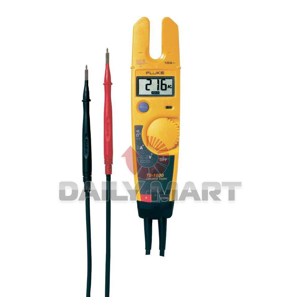 Electrical Current Tester : Fluke t voltage continuity and current electrical