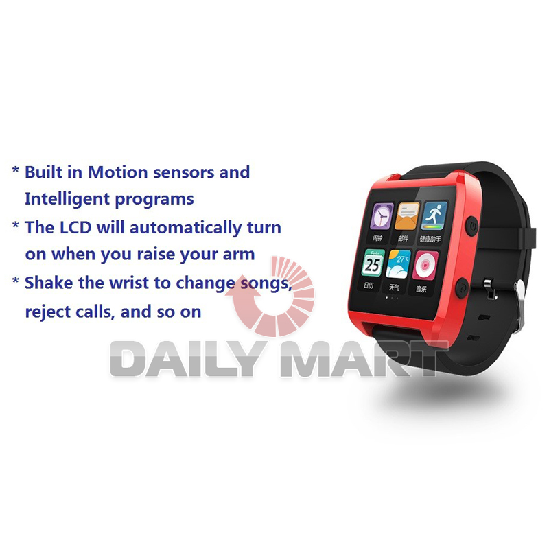 Top Tablets smartq z watch z1 android 4 4 smartwatch waterproof 1 54 inch wifi bluetooth has RAM and